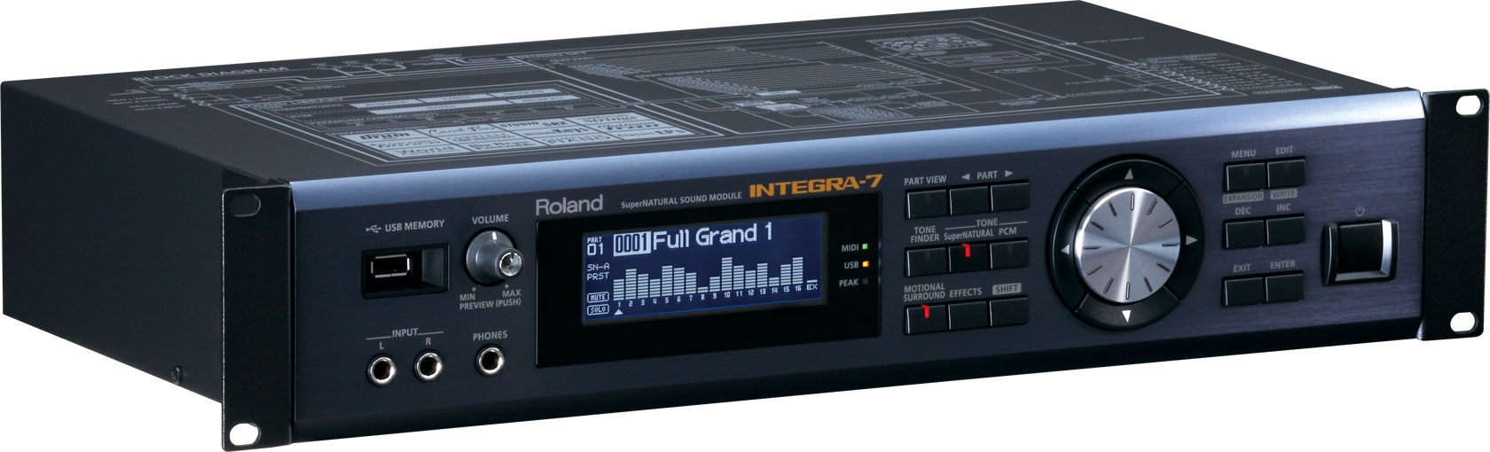 Синтезатор Roland Integra-7: фото
