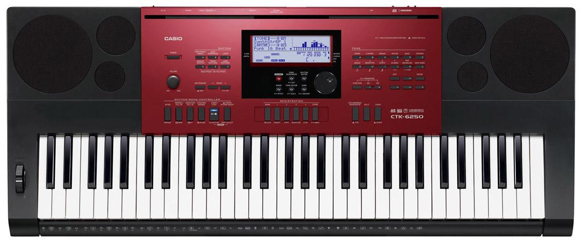 Синтезатор Casio CTK-6250: фото