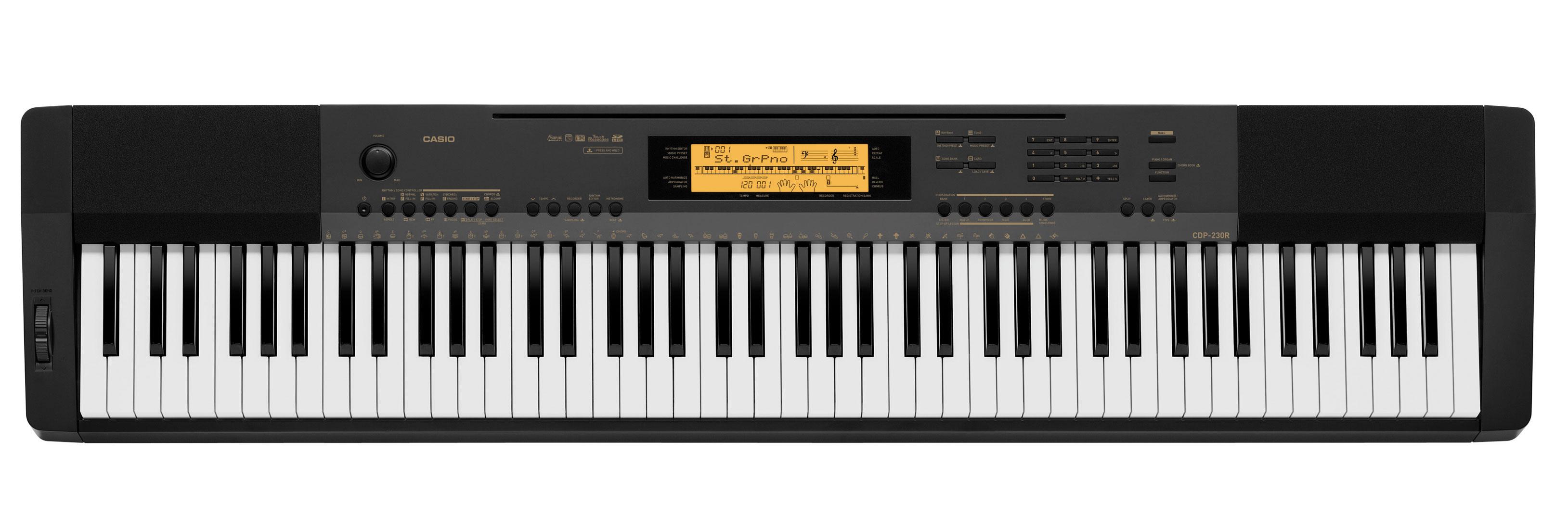 Цифровое пианино Casio CDP-230RBK: фото