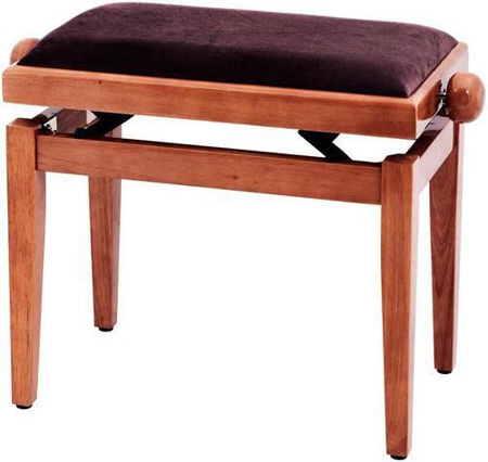 Банкетка Gewa FX Piano Bench Yew Highgloss Brown Seat: фото
