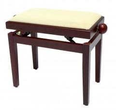 Банкетка Gewa FX Piano Bench Ivory Highgloss Beige Seat