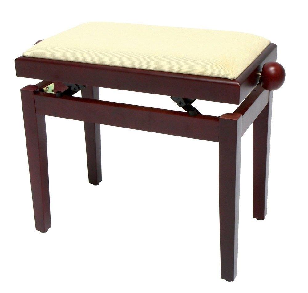 Банкетка Gewa FX Piano Bench Ivory Highgloss Beige Seat: фото